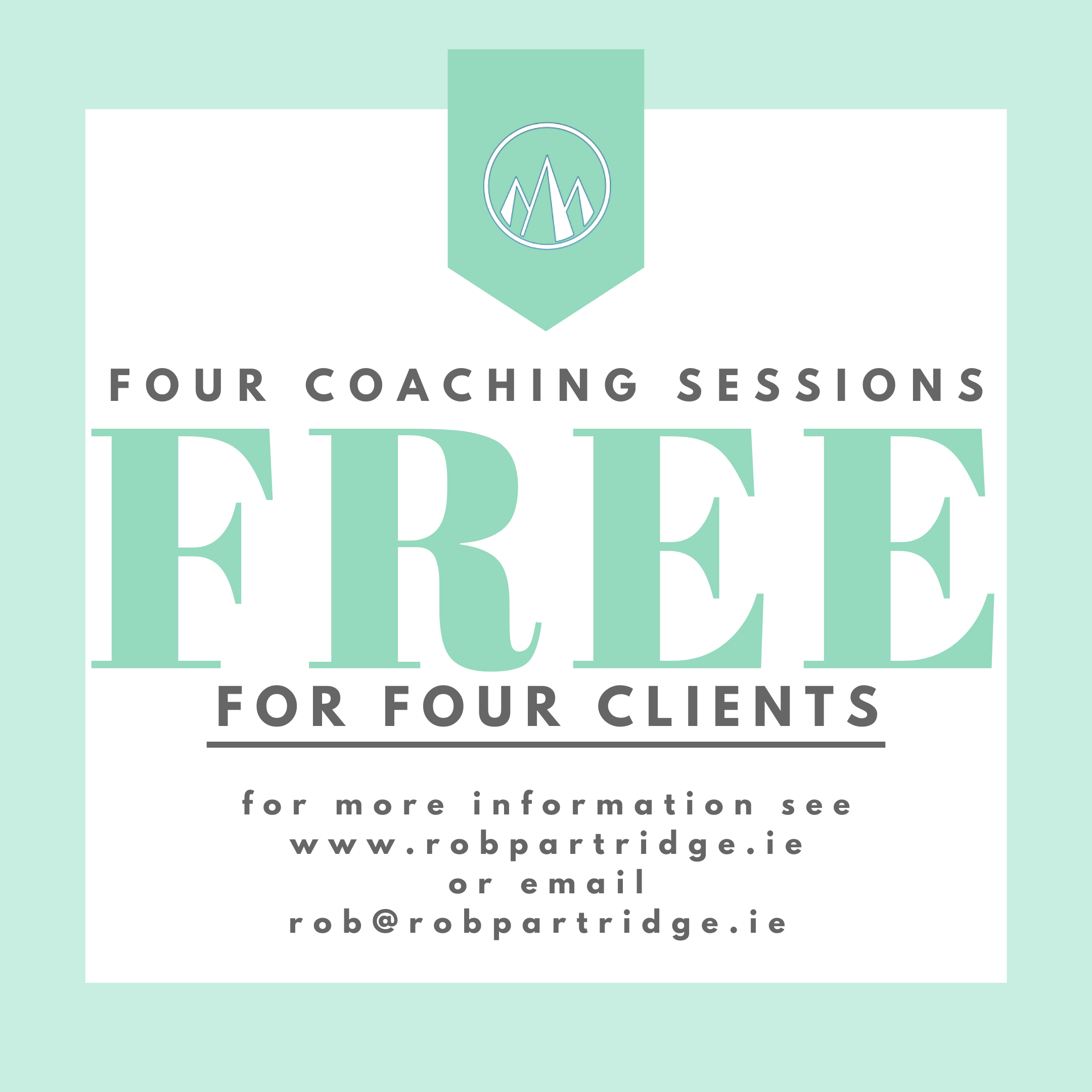 Four Free Coaching Sessions